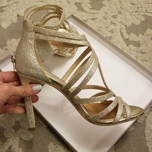 69491b1fb92 Jimmy Choo Shoes - Jimmy Choo Selina 100mm Glitter Sandal